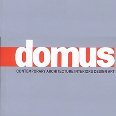 TOTE FEATURED IN DOMUS MAGAZINE
