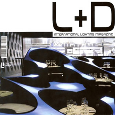 BLUE FROG FEATURED IN L+D MAGAZINE