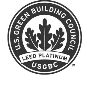 BUSHWICK INLET PARK IS CERTIFIED LEED® PLATINUM BY USGBC