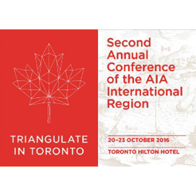 AIA INTERNATIONAL CONFERENCE IN TORONTO
